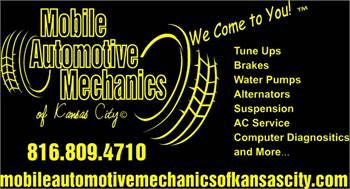 Mobile Auto Mechanics,We come to you in Kansas City-(816)8094710