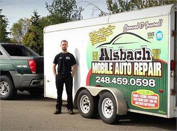 Alsbach Mobile Auto Repair in Holly Michigan (248)4590598